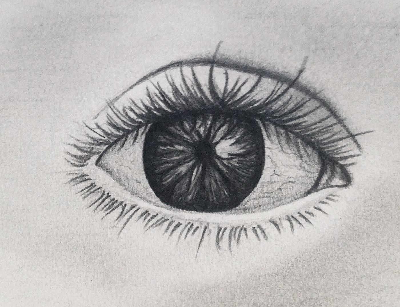 極美的24張手繪眼睛欣賞