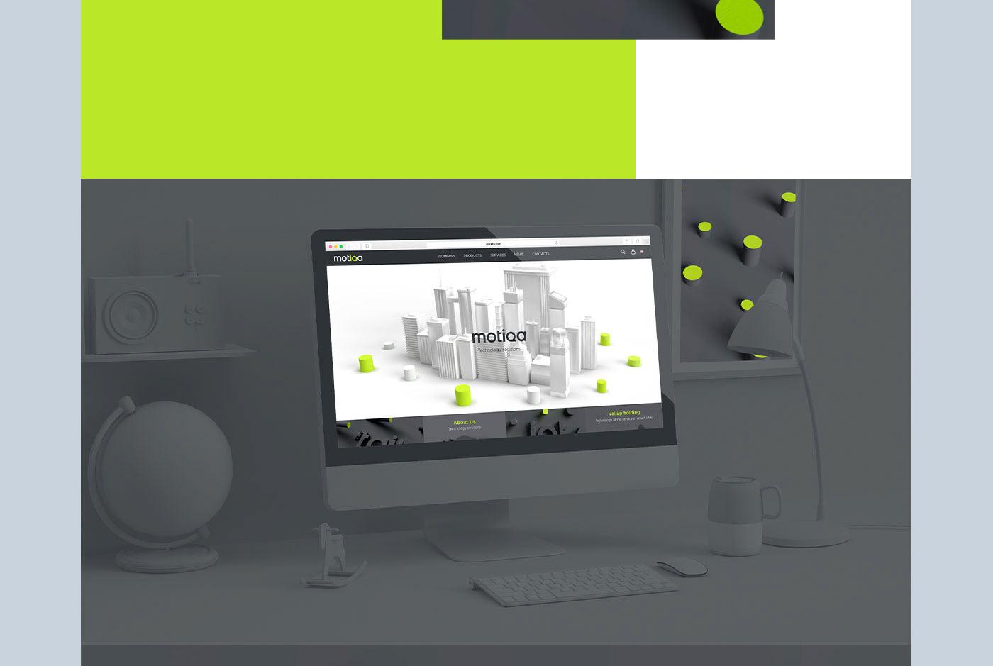 Adobe Dimension company website design web motiqa sito web sviluppo web voilàp holding Web Design