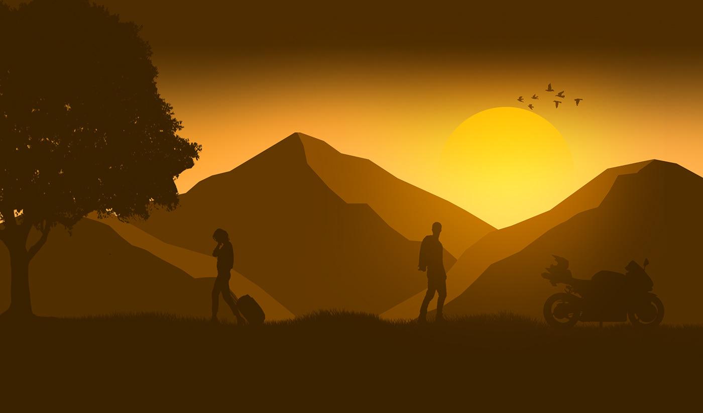 Breakup : Illustration on Behance
