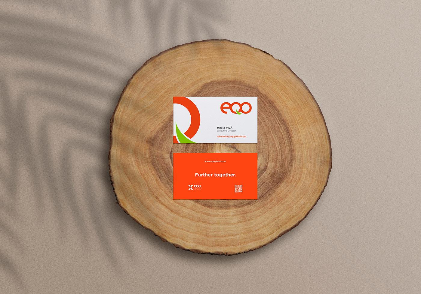 brand identity EQO ledel branding Renewable Energy environment