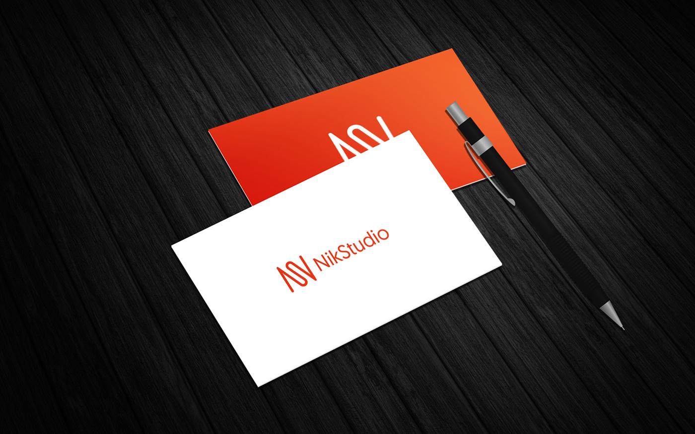Mockup free enjoy businesscard Perspective nikstudio