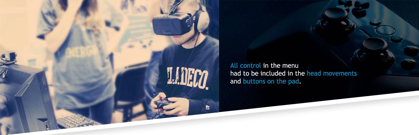 Oculus Unreal ux UI vr VspaceR Politechnika Białostocka polish game virtual GUI