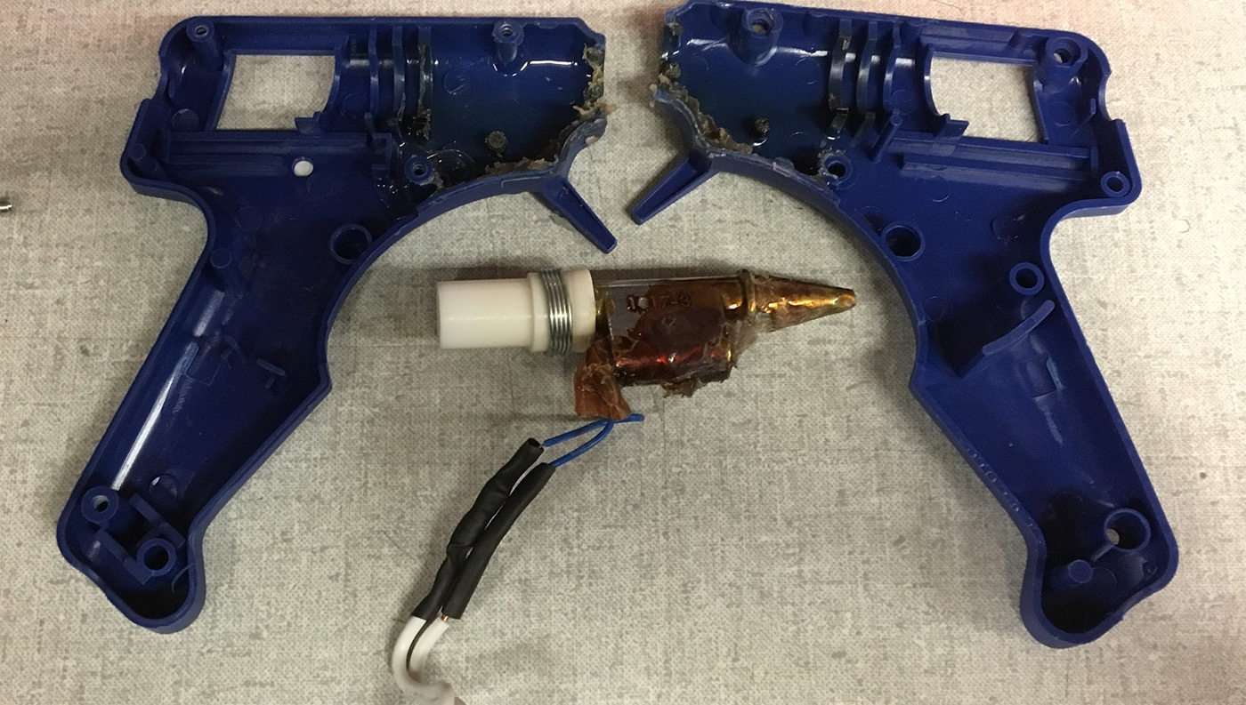 Solidworks: Glue Gun Housing Redesign on Behance