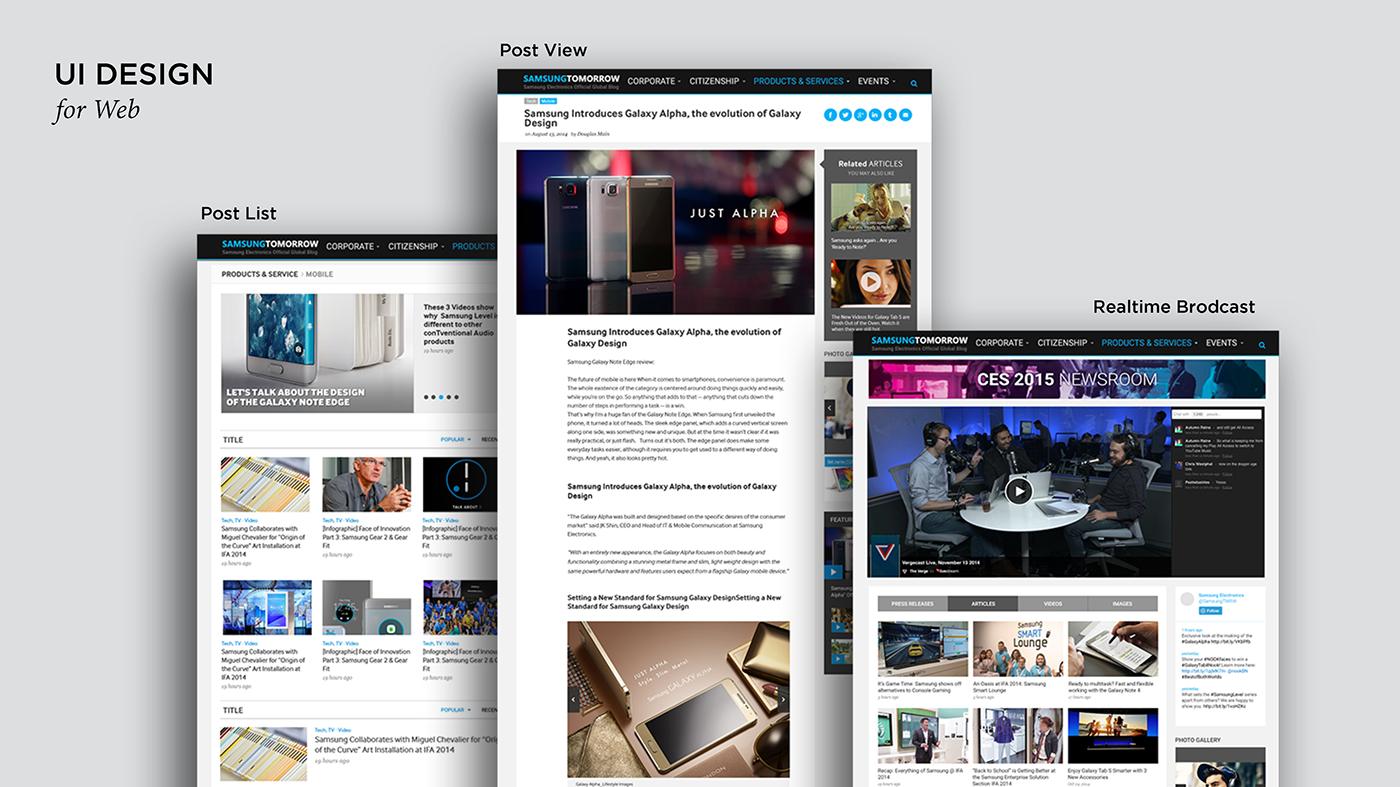 Web Responsive Design Webdesign