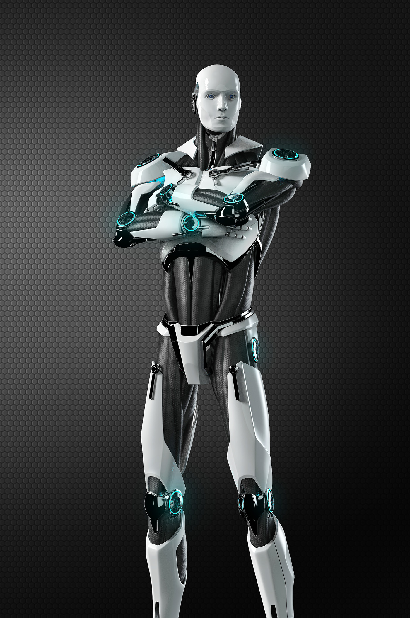 ESET robot / 3d model on Behance