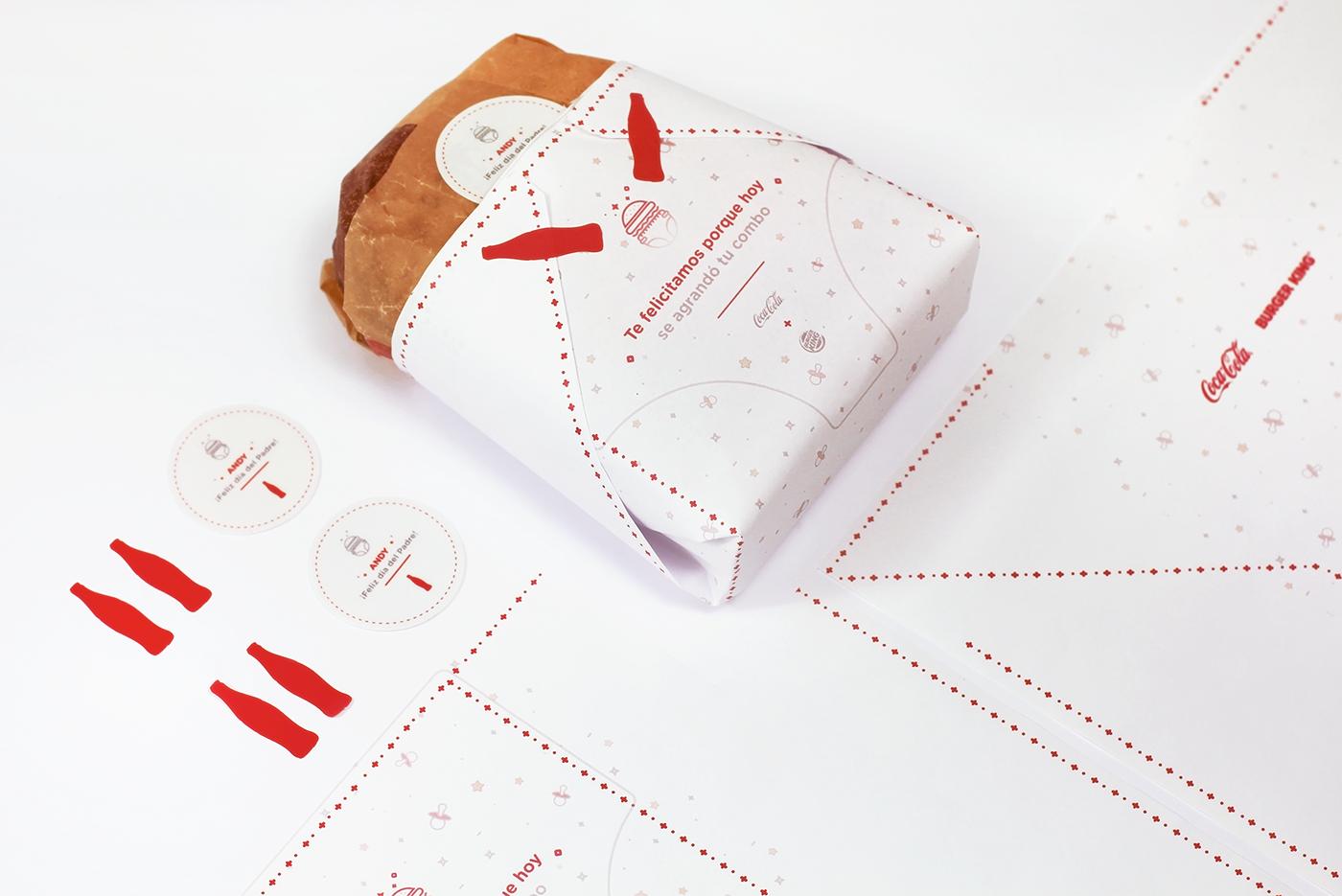 Supersize Combo Coca-Cola+Burger King on Behance