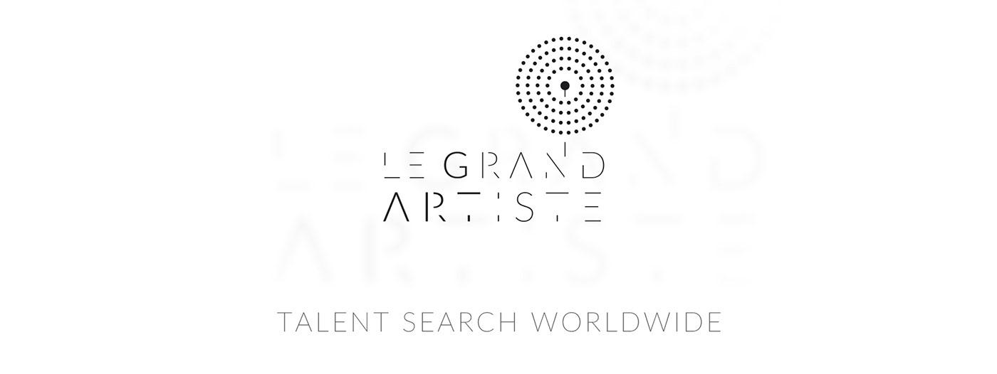 branding  identity graphic design  Booking Agency art
