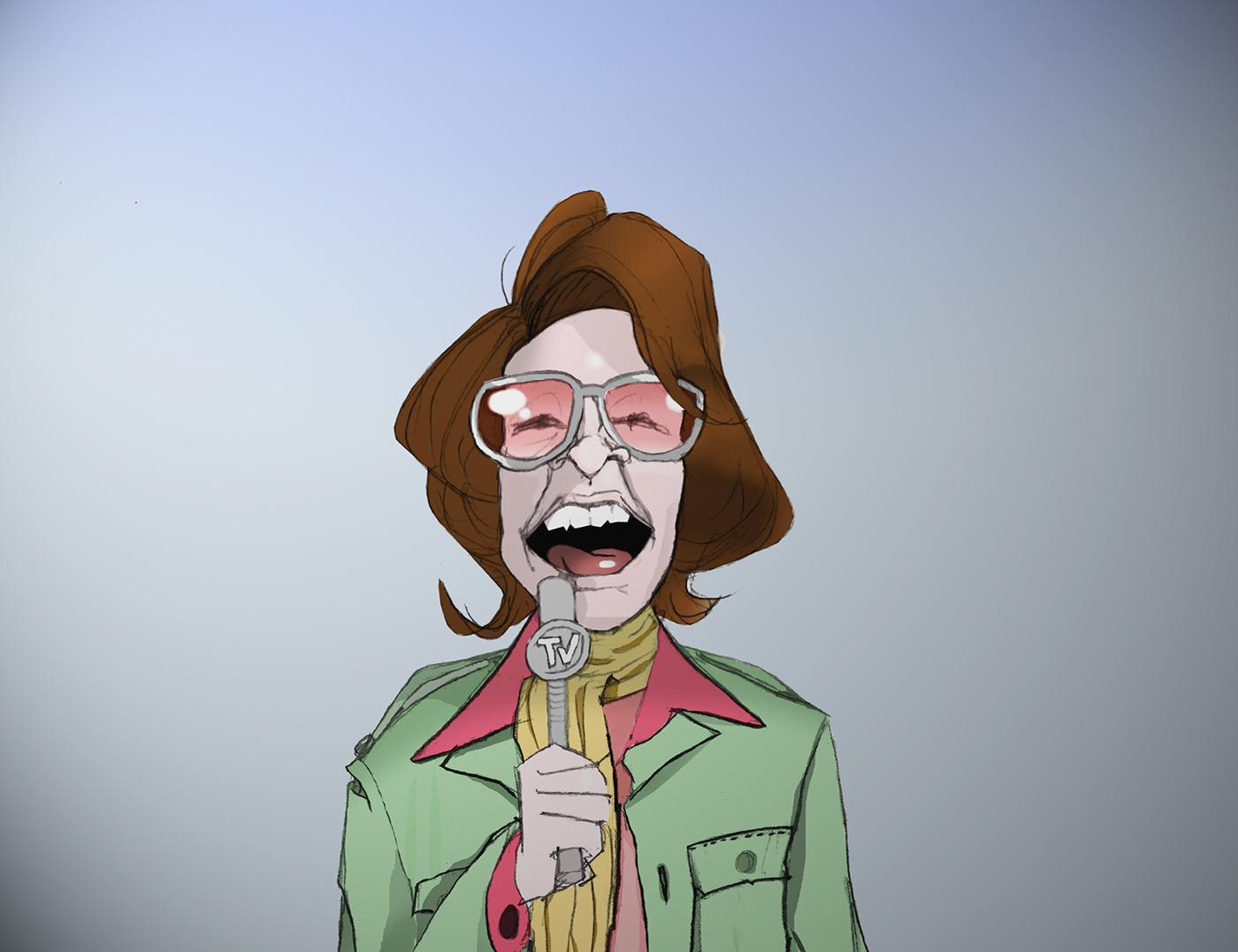 Adobe Portfolio art artist artwork ILLUSTRATION  Drawing  Character cartoon funny digitalart