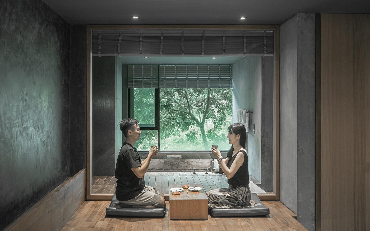 hot spring hotel Landscape mountains resort Travel