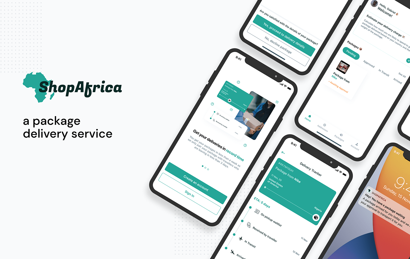 delivery Logistics package package delivery shipping shop ShopAfrica Travel