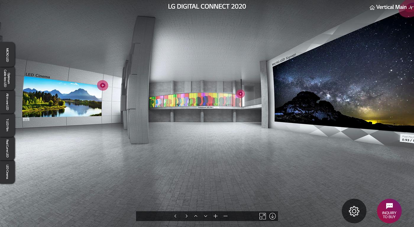 LED Virtual Showroom