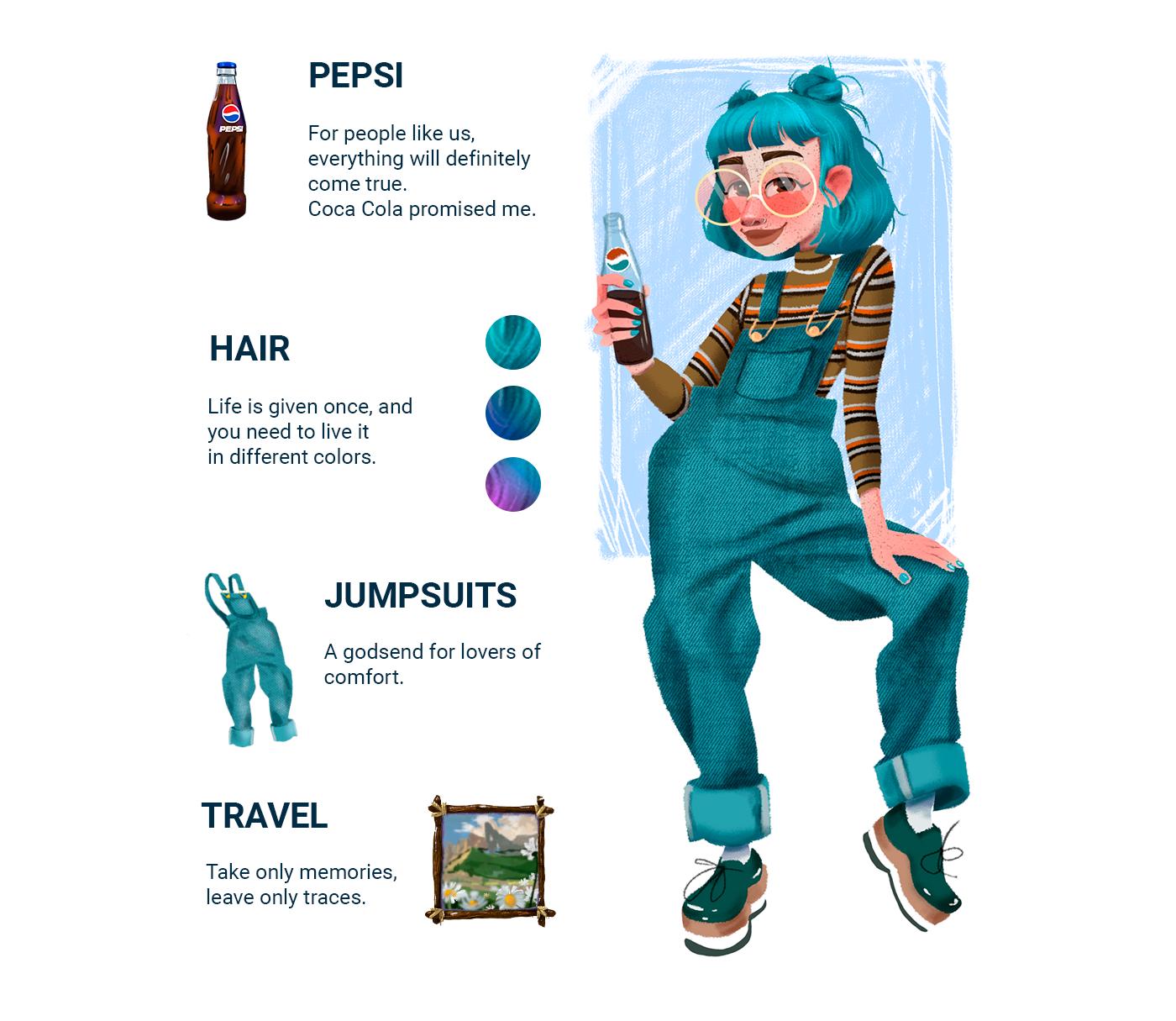 art character concept Character design  children illustration cute character Digital Art  digital illustration girl ILLUSTRATION  Infinite Painter