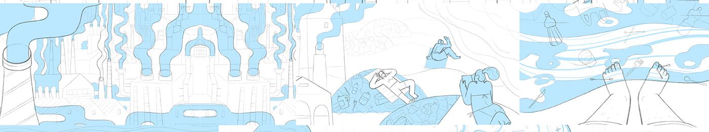 Image may contain: map and cartoon