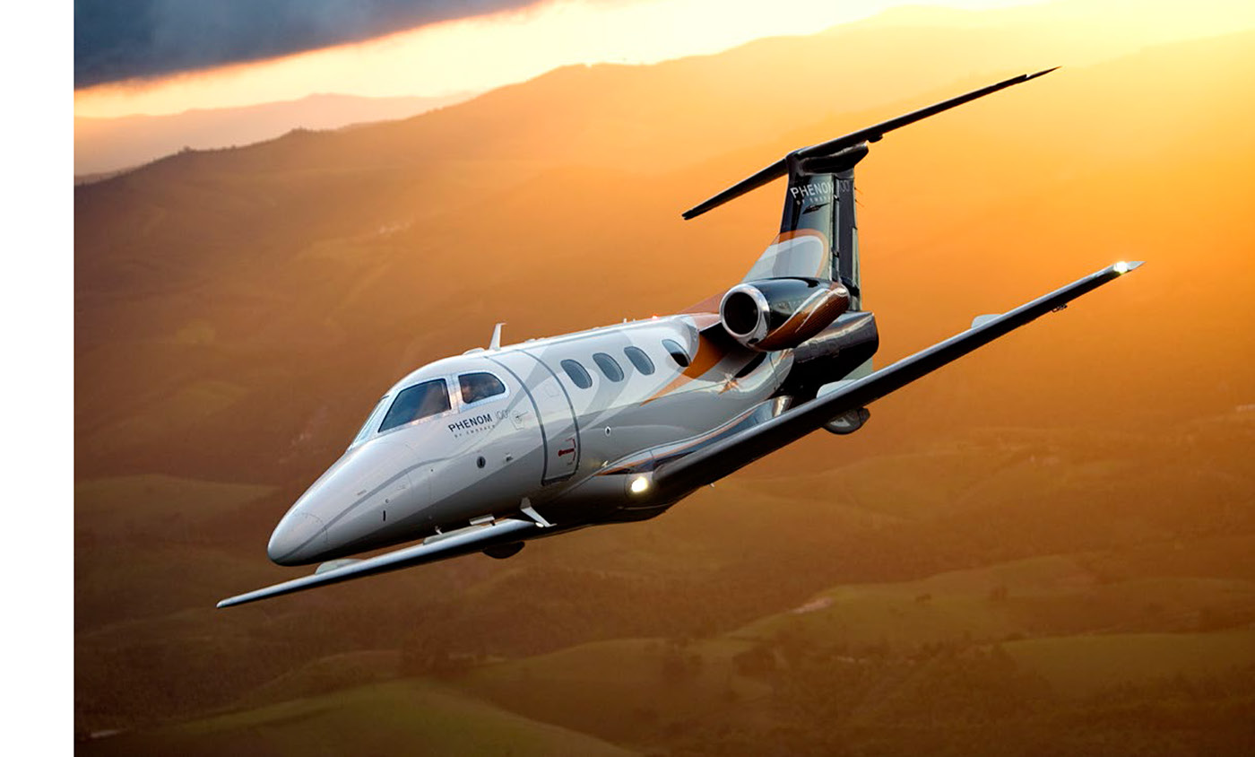 Embraer jets private jets sales books luxury branding Aircraft