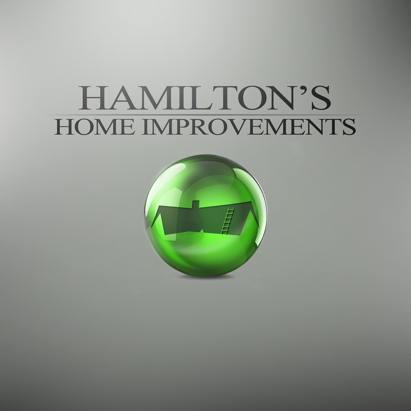 Hamilton 39 S Home Improvements Logo Design On Behance