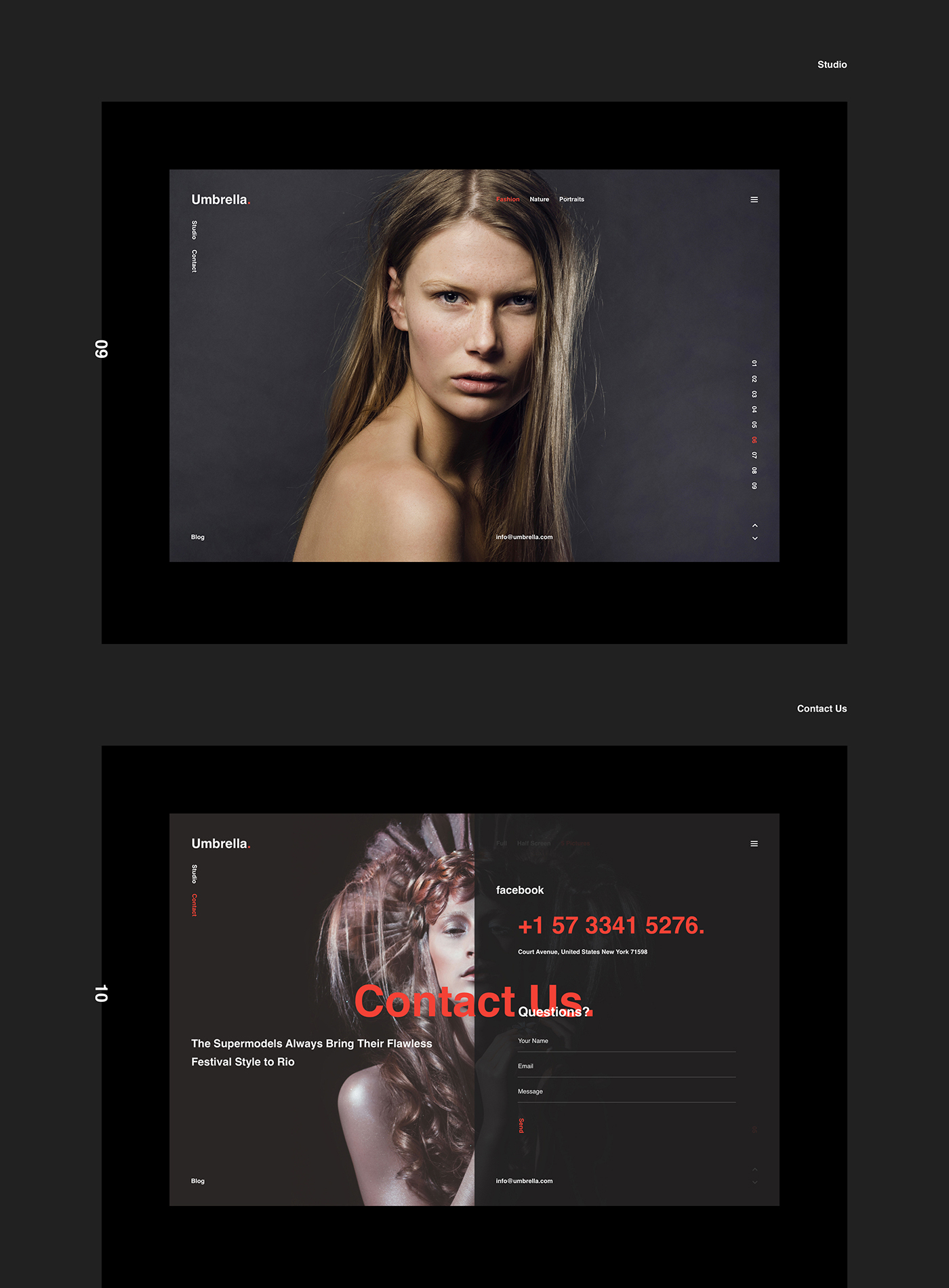 material flat mobile gif promo bootstrap Responsive parallax