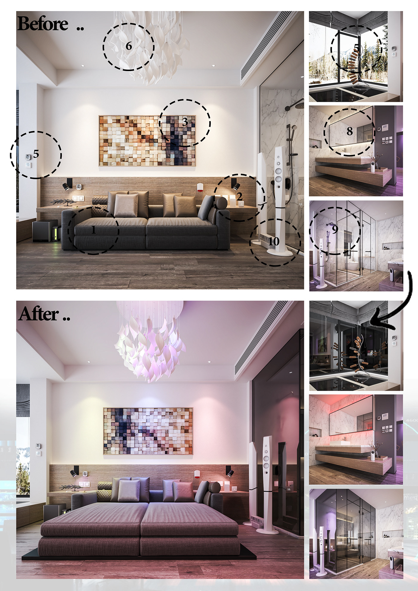 The Concept of Transformation in the Interior Design on ...