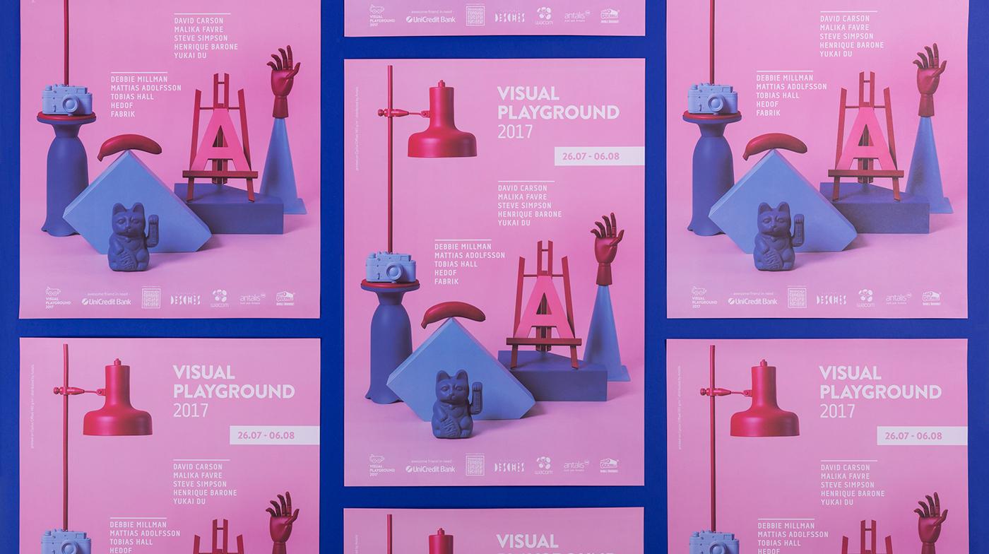 festival brochure poster Mural paint design conference Workshop