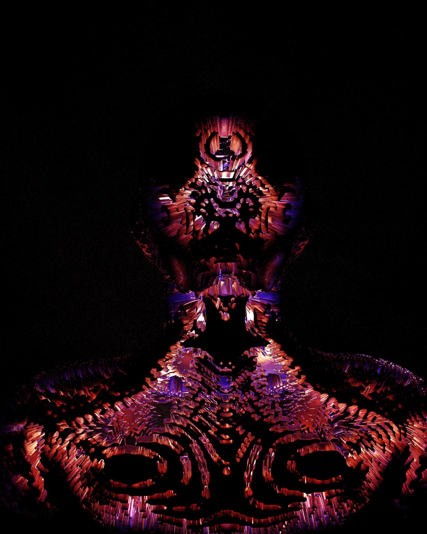 Image may contain: dark