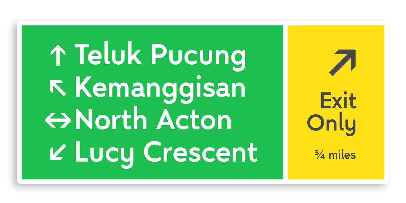 Display font legible long ascenders modern multilanguages sans sans serif Typeface typography