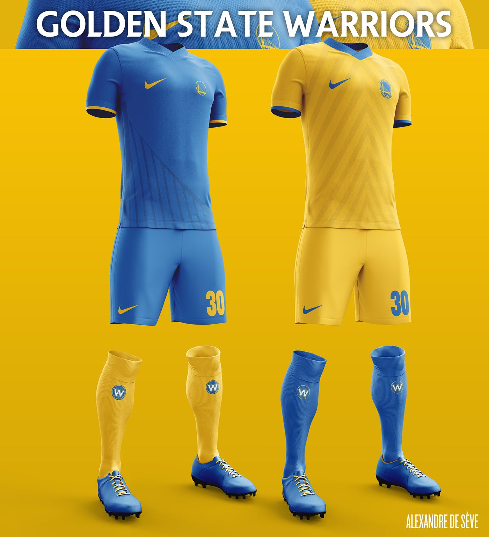 29eca201697 Golden State Warriors Soccer Concept Kit