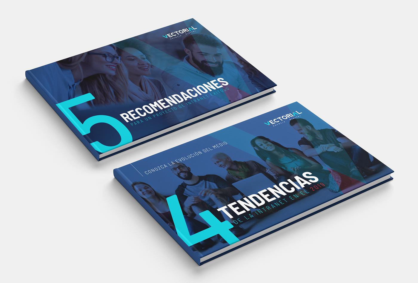 Diseño editorial diseño gráfico eBooks brochure