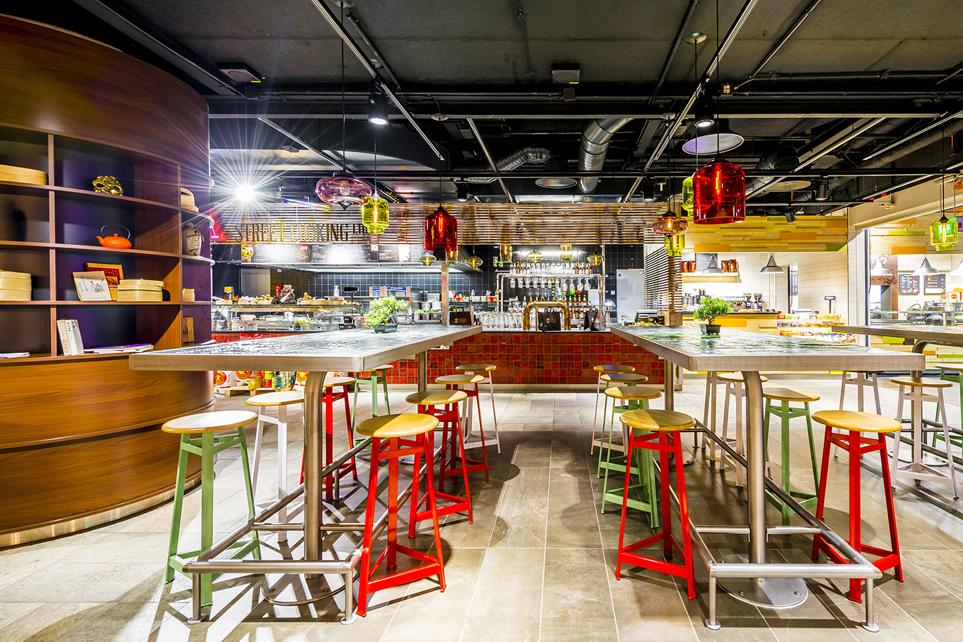 restaurant airport brand Food  asia Autogrill branding  concept
