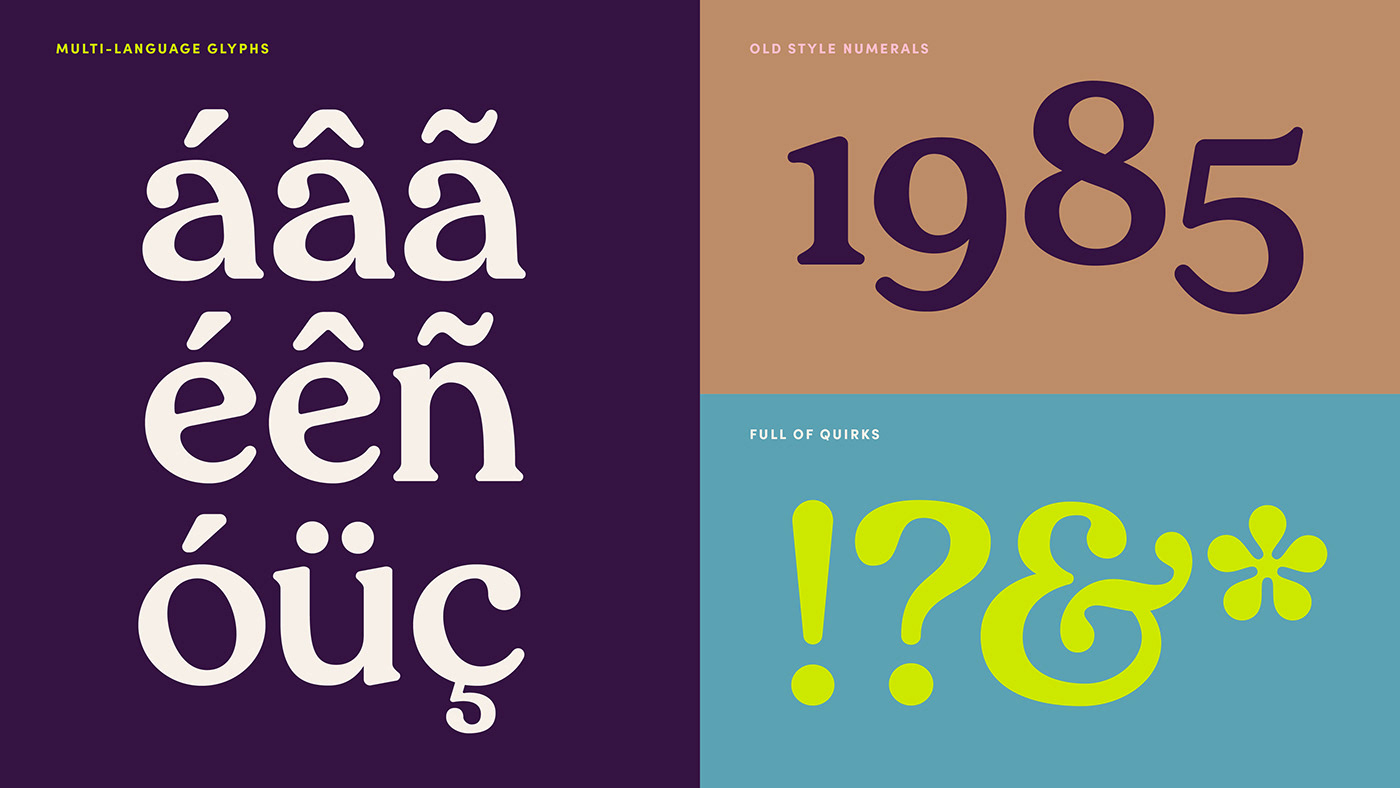 barcelona city design editorial font letters numbers Typeface typography