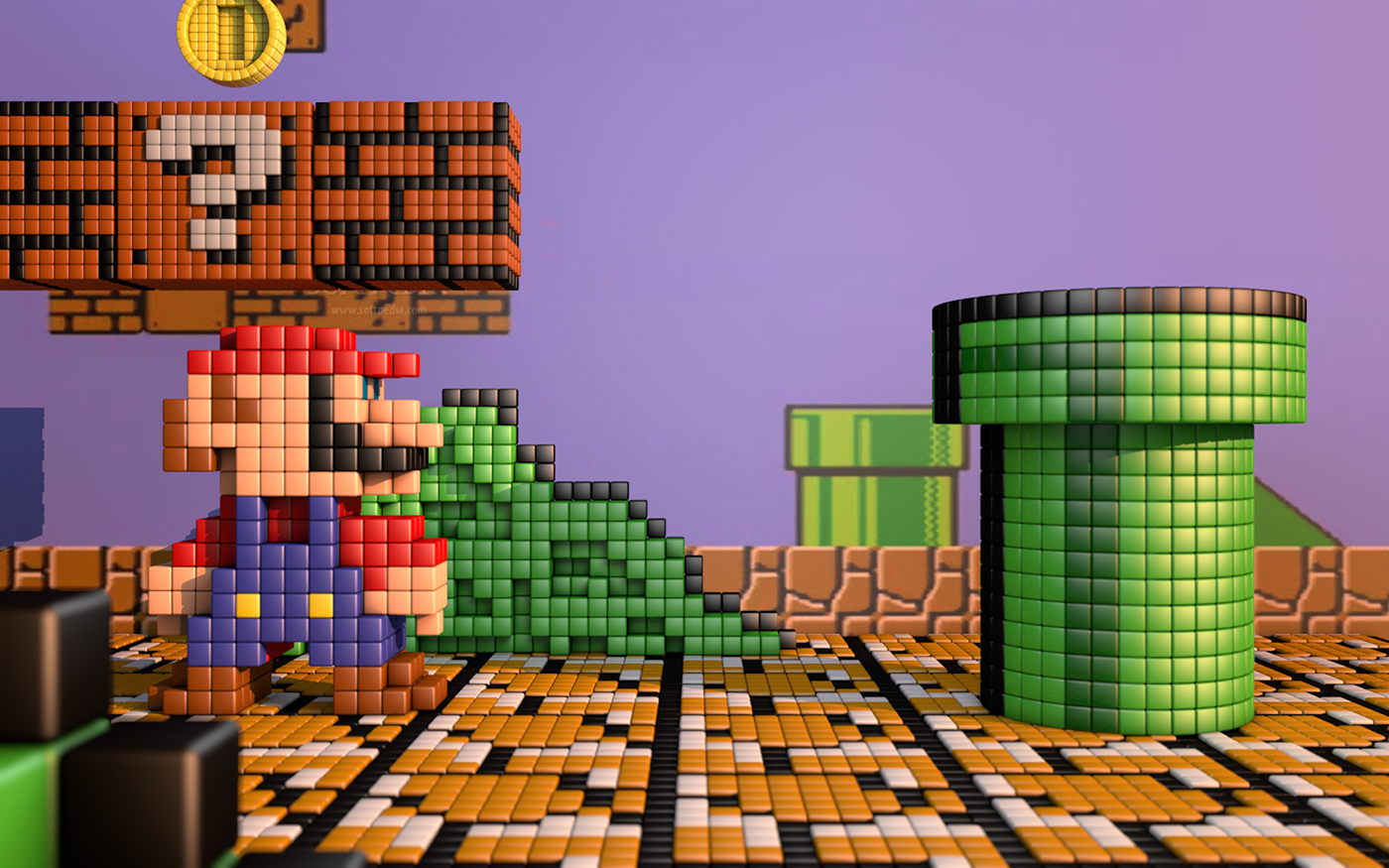 pixel art mario on behance