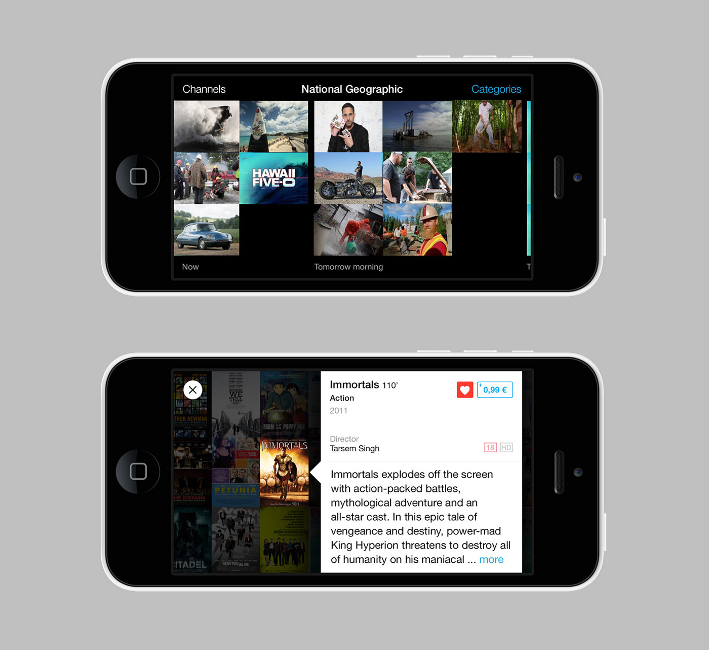 tv Guide tv guide iphone mobile ios app