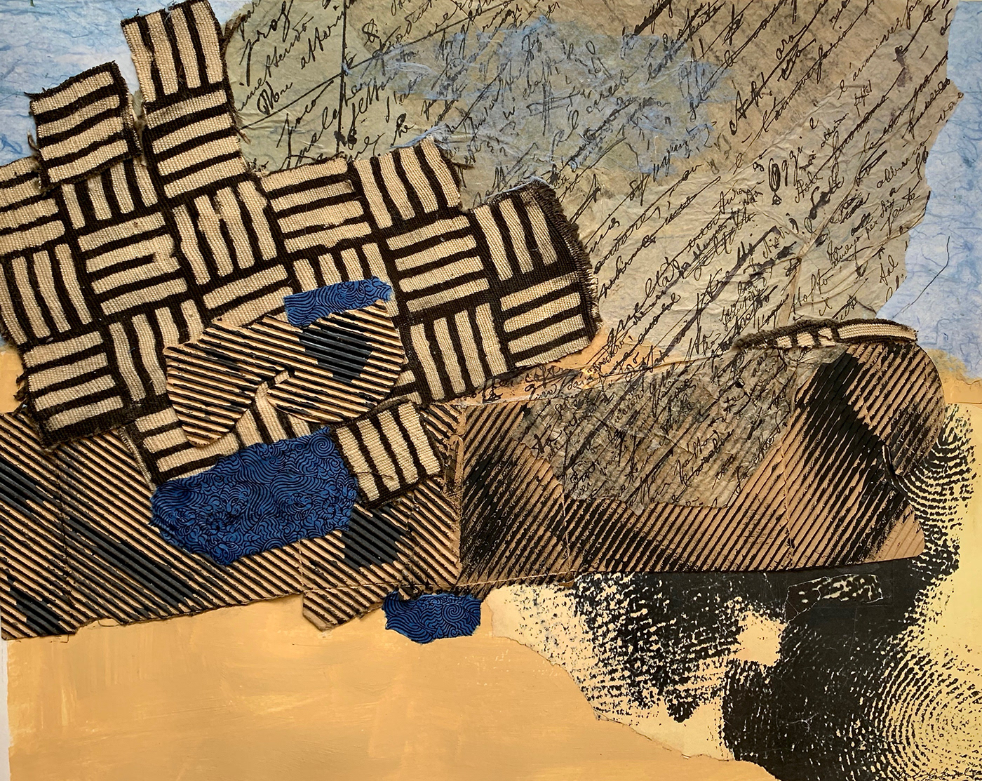 abstract artists equity collage Exhibition  Immigration Photography