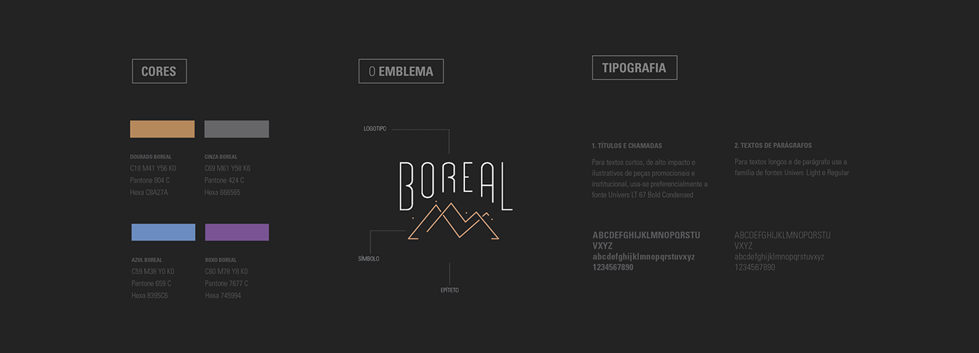 ARQUITETURA boreal branding  Icon marca Minimalism portas elegant identidade visual sophisticated