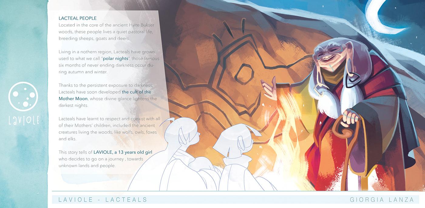 laviole Character design  Creature Design personal project journey giorgia lanza giorgialanzart Digital Art  concept art