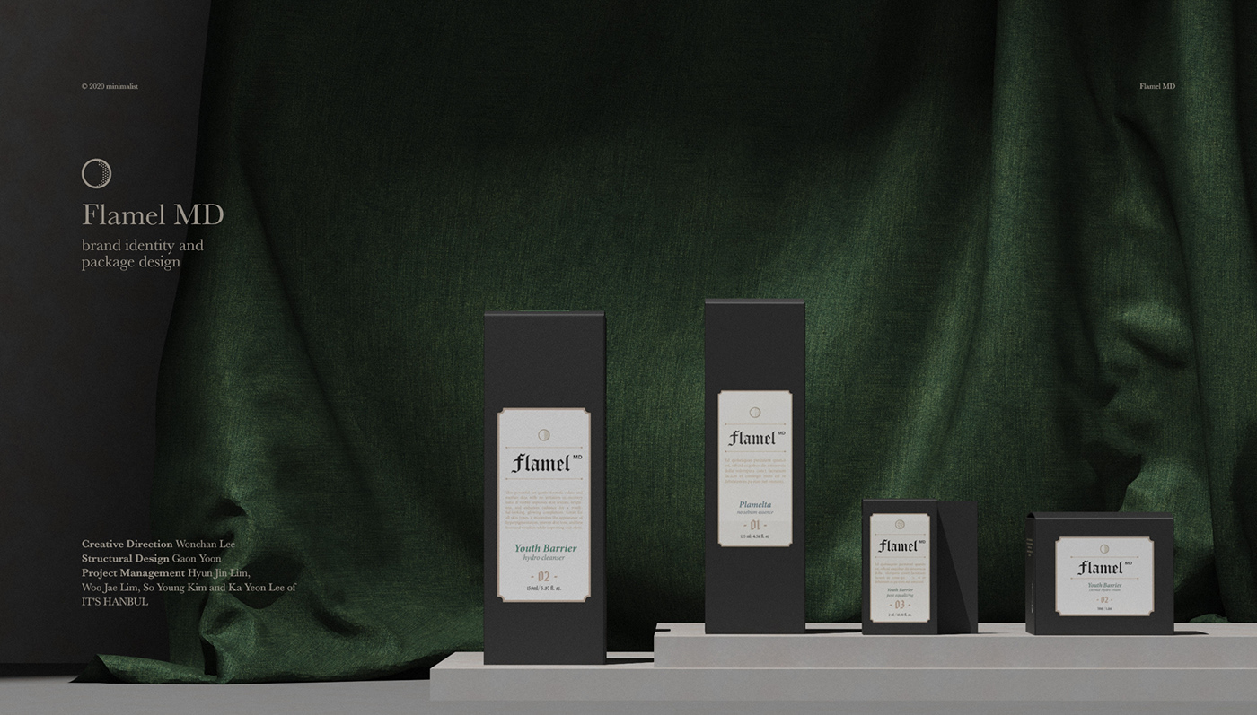 Alchemist Cosmetic Brand cosmetic design Cosmetic package cosmetic packaging cosmetics cosmetics design cosmetics packaging 미니멀리스트 플라멜