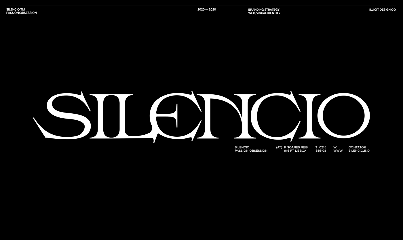 Blackletter Clothing Fashion  modern serif store streetwear type typography   Brutalism