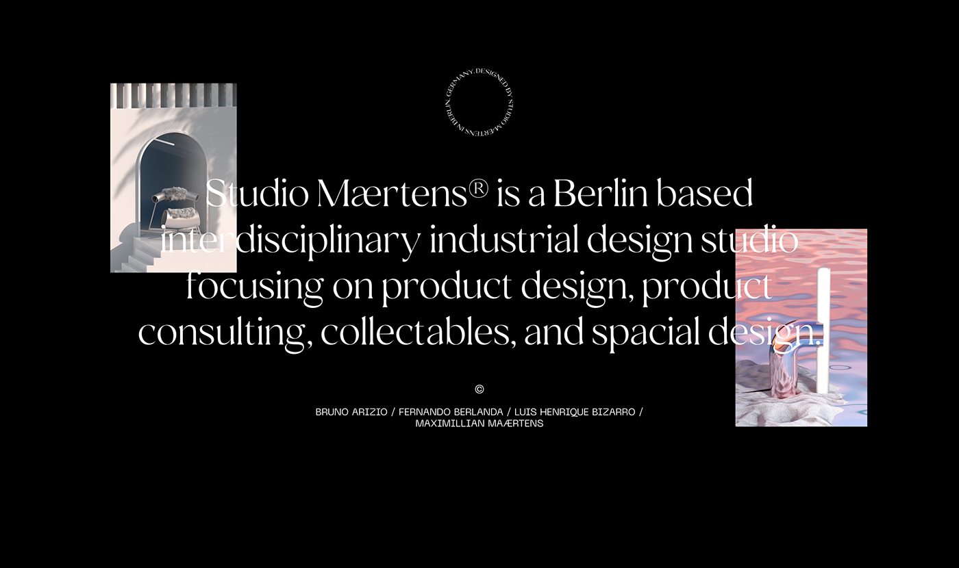 3D big type black editorial graphic design  sans-serif serif typography   UI ux