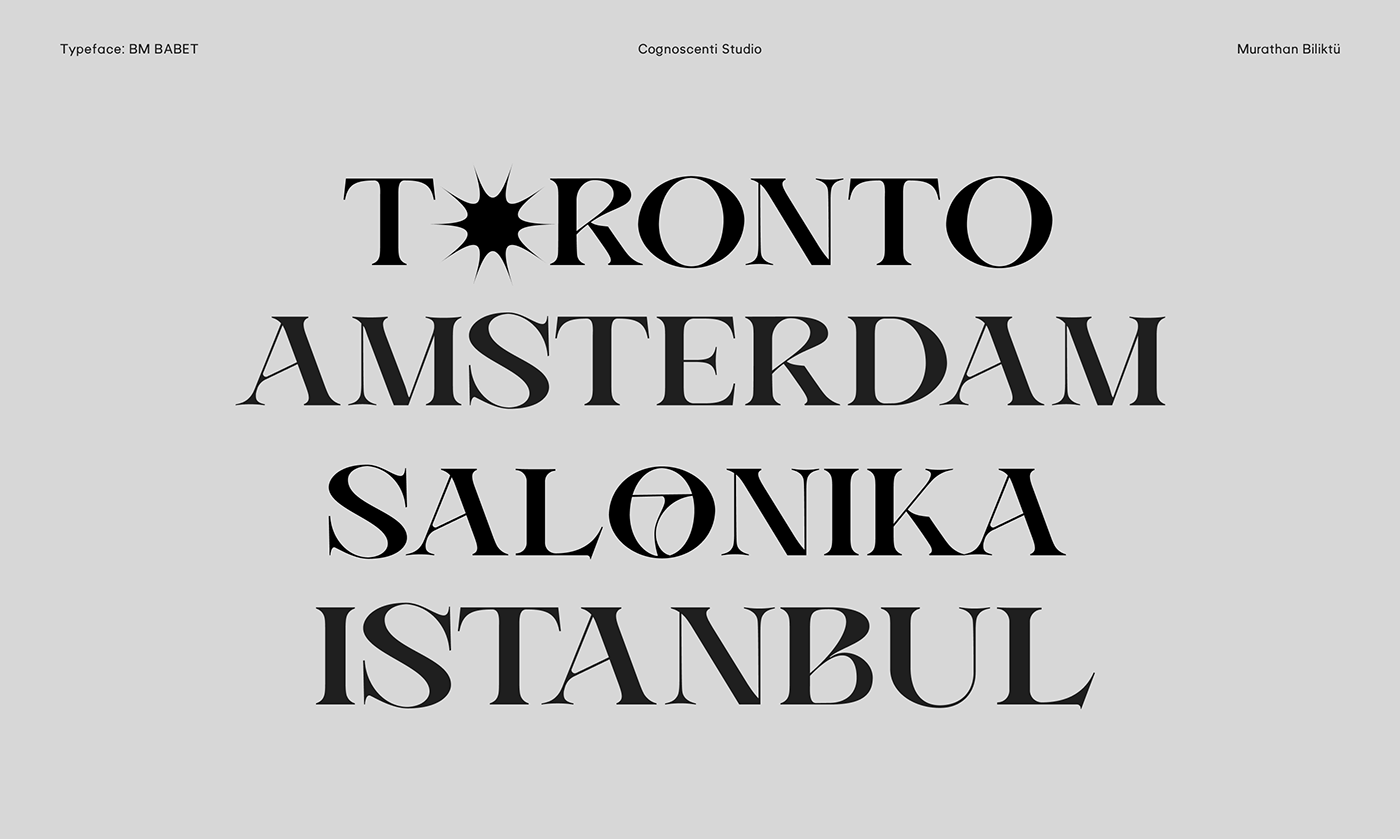 brand branding  Classic editorial font logo serif type type design typography