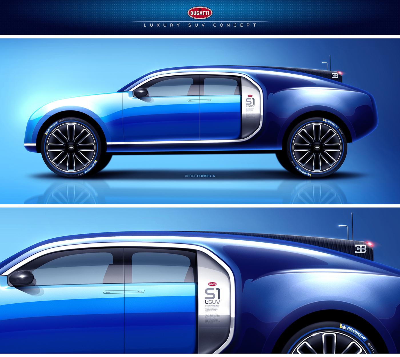 Bugatti Luxury Suv Concept On Behance