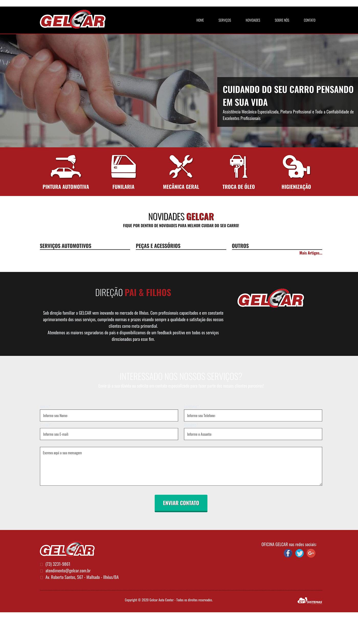 GelCar oficina Website