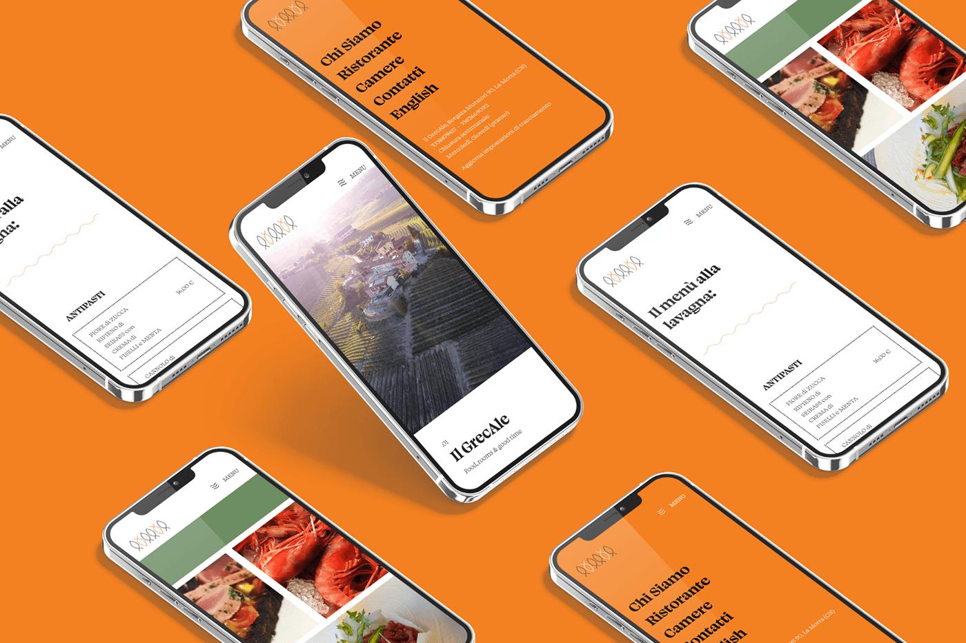 Restaurant Website uidesign Webdesign Website