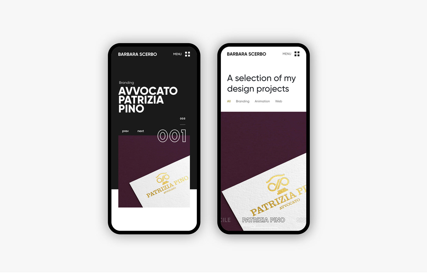 portfolio Web Design  minimal Web design Project branding  typography   Website black white