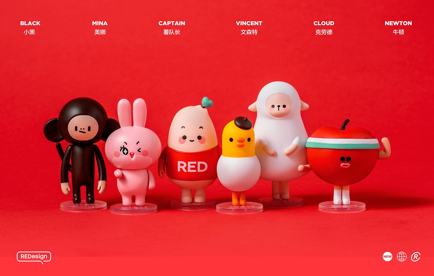 stop-motion 定格动画 IP 盲盒 摄影 形象设计 玩偶 人物设计