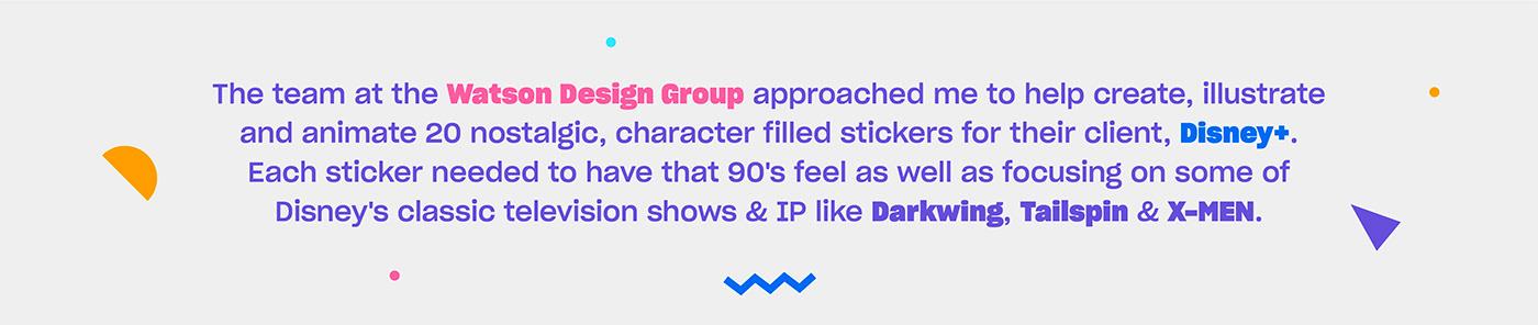character art disney instagram lettering nostalgia Retro stickers Walt Disney