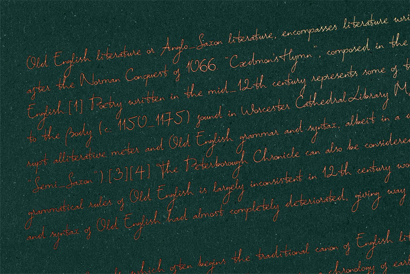 font Typeface handwritten Script