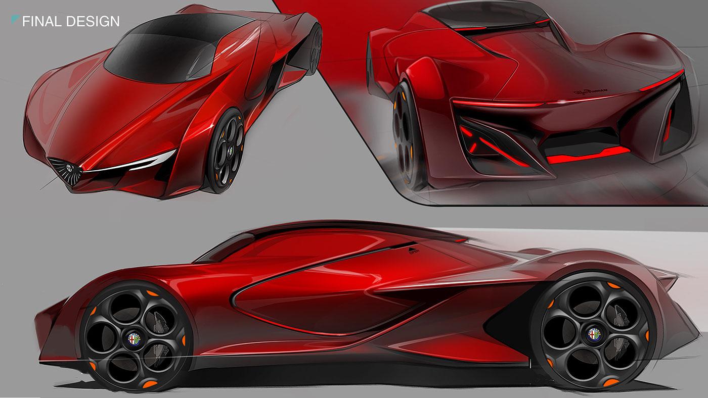 Transportation Design alfa romeo