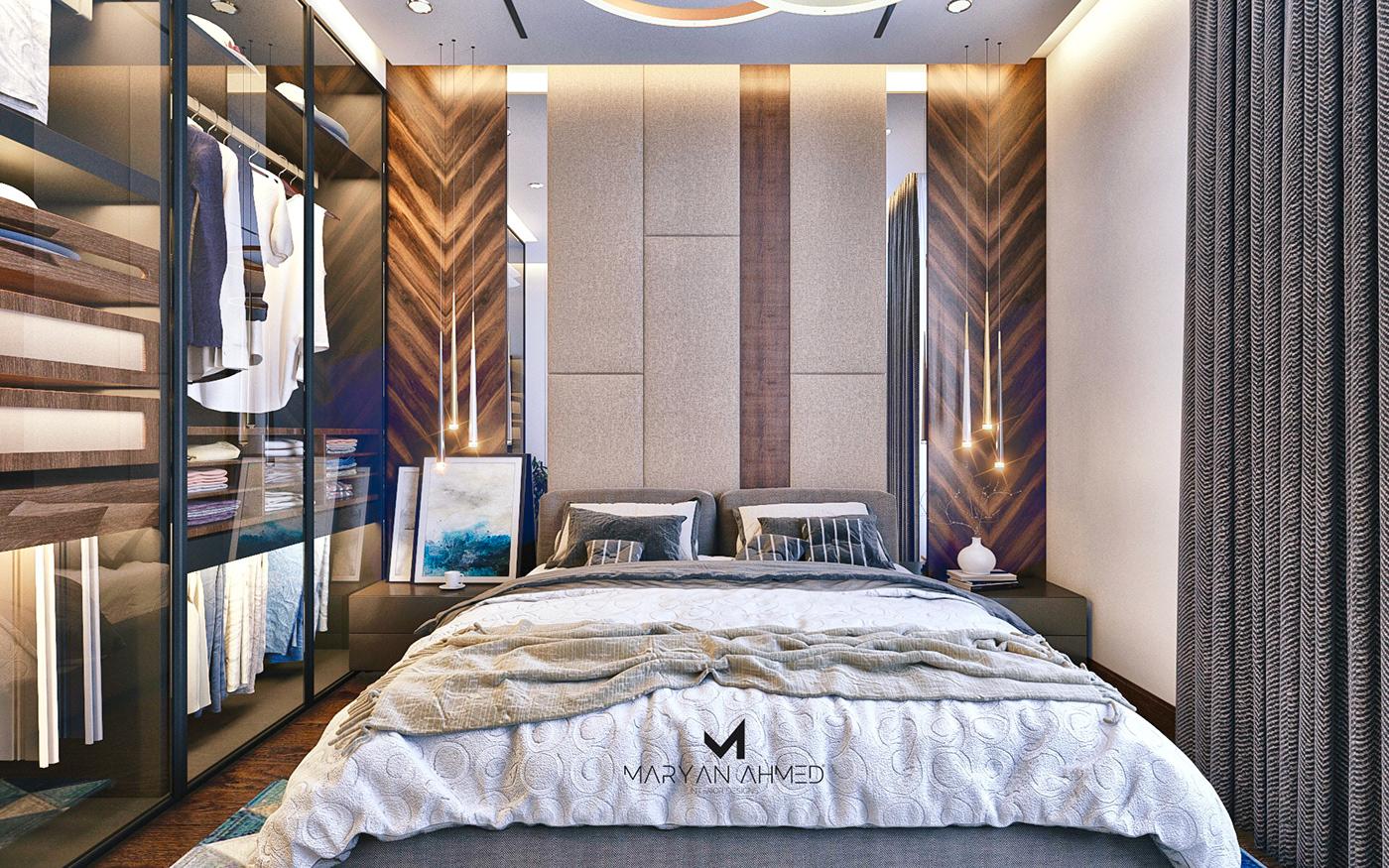 有獨特感的44張臥室設計欣賞