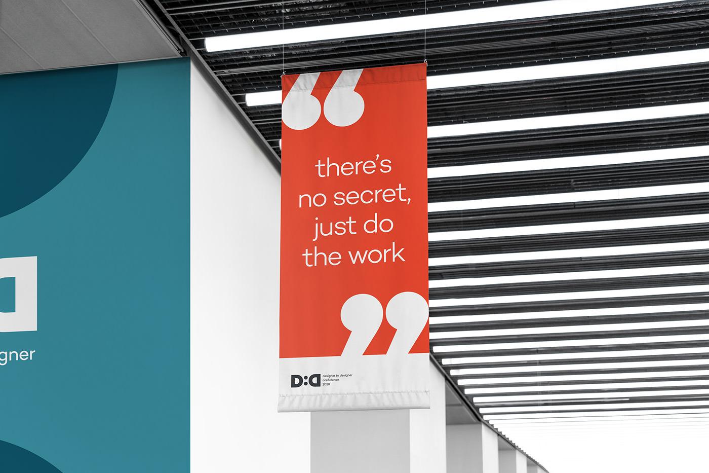 adobe Creative Cloud Designer to Designer conference branding  festival design bauhaus D2D san francisco identity