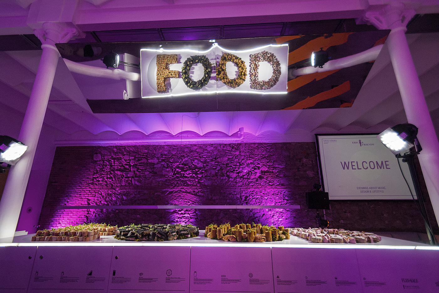 installation,Food ,flexitarian food,graphic design ,food experience,Experience,vegan,Event,music,gastronomy