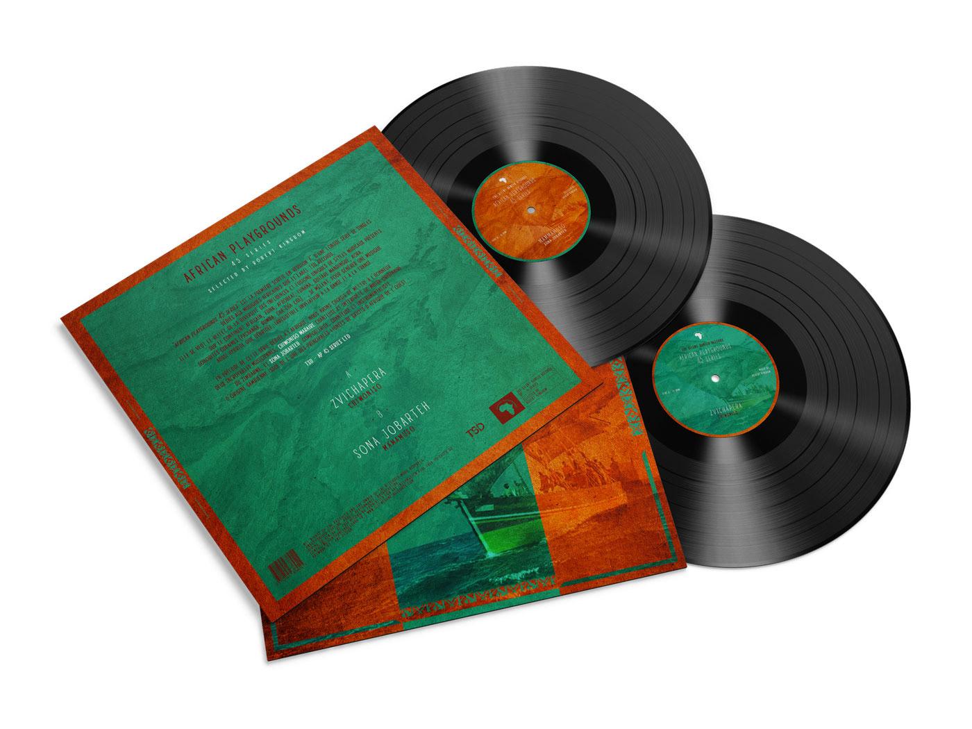 graphisme Musique vinyles artwork cover afrique