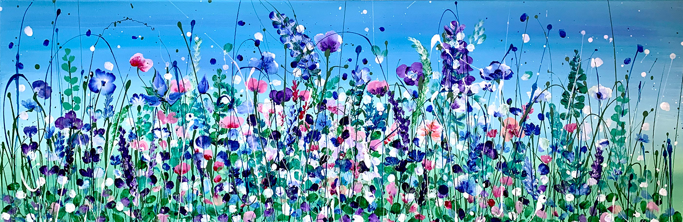 abstract acrylic Colourful  commission contemporary cute impressionistic painting   pour art pretty vibrant watercolour